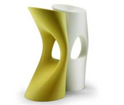 Chicmodern - Taburete de bar-Chicmodern-Flod Stool