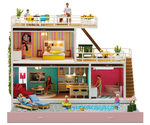 Micki Leksaker - Casa de muñecas-Micki Leksaker-Lundby - Stockholm
