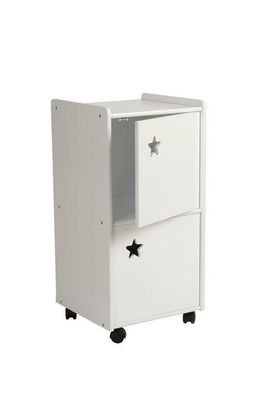 Miliboo - Organizador móvil para niño-Miliboo-ETOILE meuble rangement 2 portes