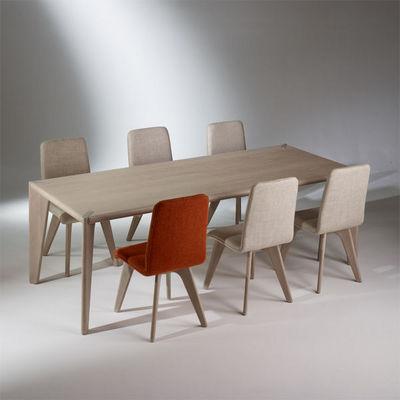 Robin des bois - Mesa de comedor rectangular-Robin des bois-Table rectangulaire, chêne, 10 couverts, SIXTY