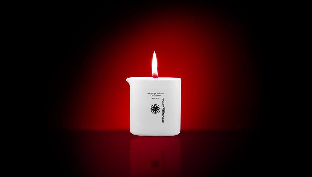 EMMANUEL LEVAIN Candela per massaggi Fiori e profumi vari Fiori e Profumi  |