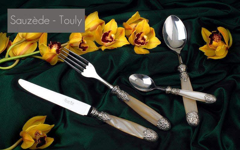 Sauzede- Touly Servizio di posate Posate Coltelleria Sala da pranzo | Classico