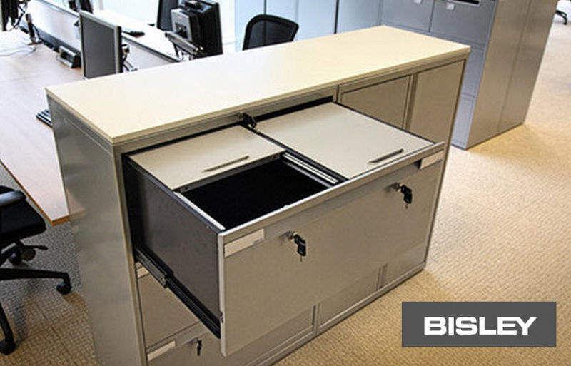 Bisley Schedario a cassetti Scatole e raccoglitori Ufficio  |