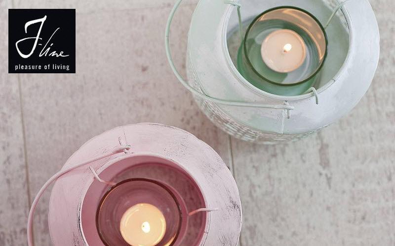 J-line Bicchiere portacandela Candele e candelabri Oggetti decorativi  |