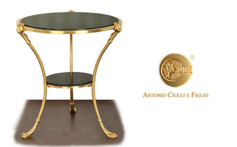 CIULLI Tavolino rotondo Tavolo d'appoggio Tavoli e Mobili Vari  | Classico