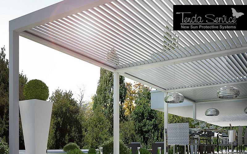 TENDA SERVICE Pergola indipendente Gazebo e padiglioni Giardino Tettoie Cancelli...  |