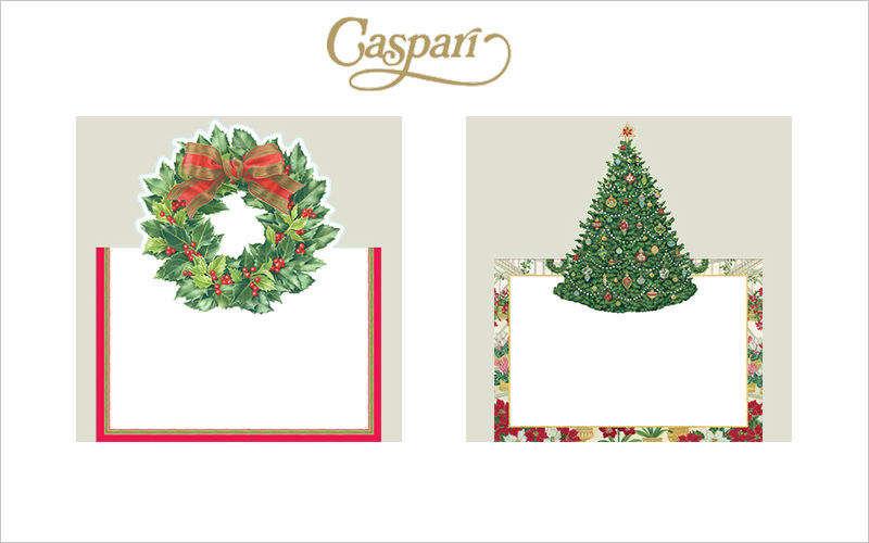 CASPARI Biglietto di Natale Addobbi natalizi Natale Cerimonie e Feste  |