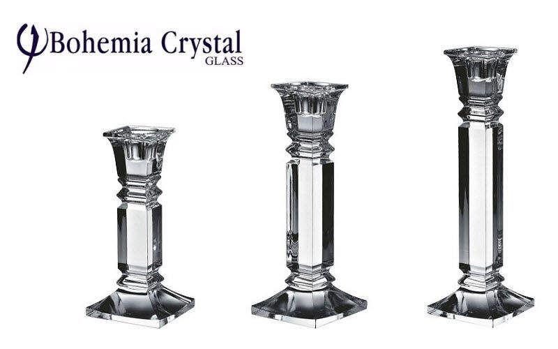 BOHEMIA CRYSTAL GLASS Portacandela Candele e candelabri Oggetti decorativi  |