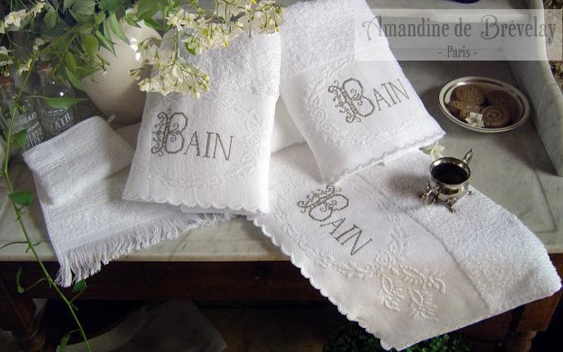 AMANDINE DE BREVELAY Asciugamano toilette Biancheria da bagno Biancheria  |