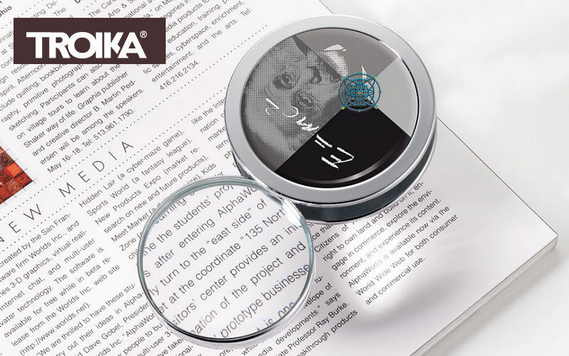 Troika Lente d'ingrandimento Forniture per ufficio Cartoleria - Accessori ufficio  |