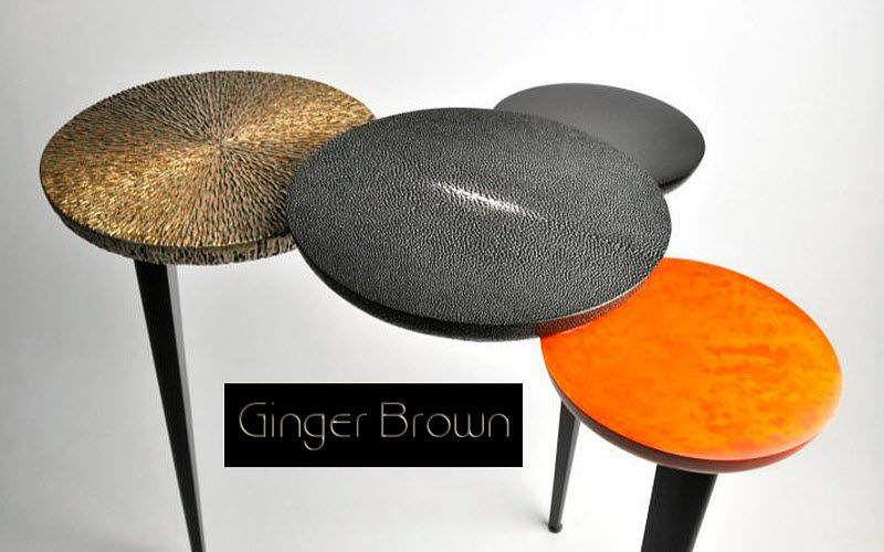 GINGER BROWN Tavolino di servizio Tavolo d'appoggio Tavoli e Mobili Vari  |
