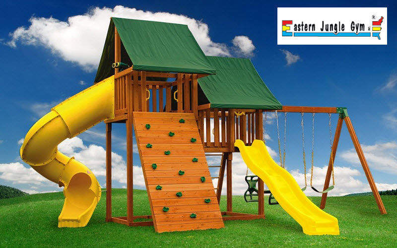 Eastern Jungle Gym Area giochi Varie Portali e Cancelli Giardino Tettoie Cancelli...  |