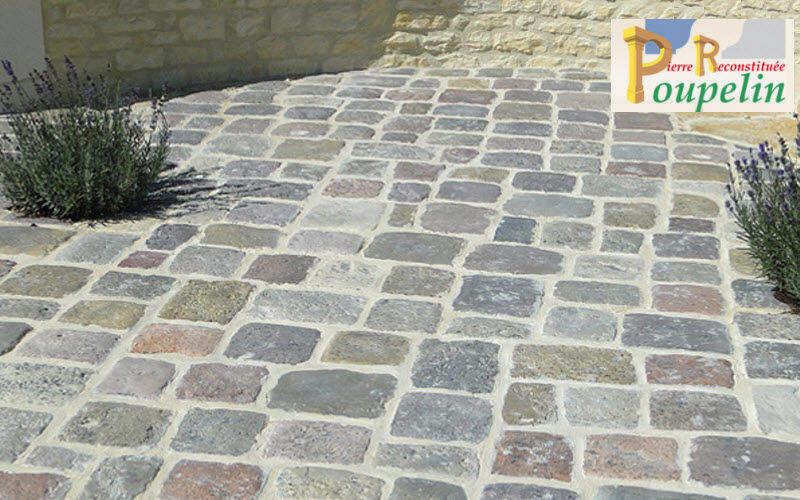 POUPELIN PIERRE RECONSTITUEE Lastricato per esterni Pavimenti per esterni Pavimenti  |