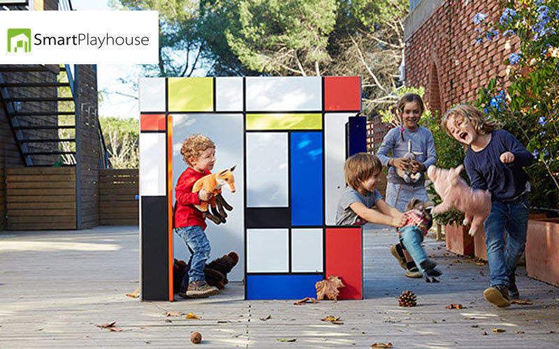 SMART PLAYHOUSE Casetta da giardino per bambini Giochi all'aria aperta Giochi e Giocattoli  |