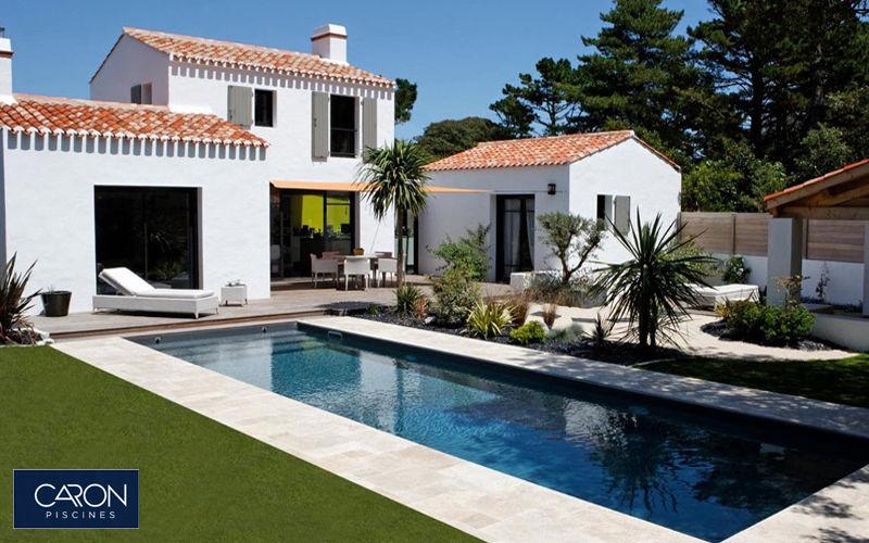 piscina lunga e stretta lap pool piscine decofinder. Black Bedroom Furniture Sets. Home Design Ideas