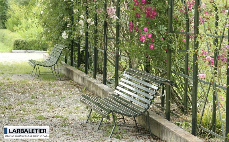 Larbaletier Panchina da giardino Panchine per esterni Giardino Arredo  |