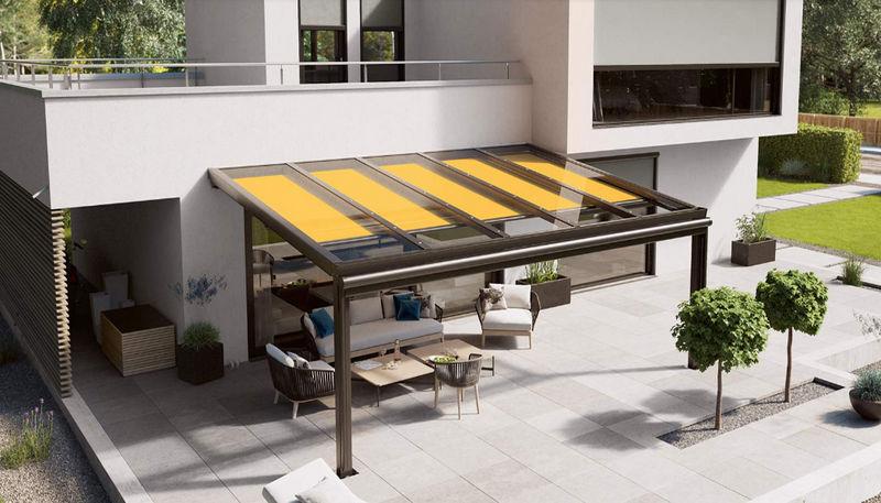 markilux Tenda per veranda Avvolgibili Tessuti Tende Passamaneria  |