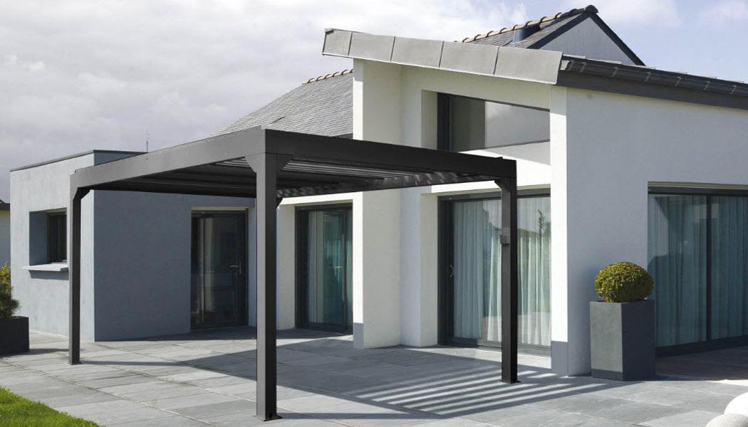 PROLOISIRS Pergola bioclimatica Gazebo e padiglioni Giardino Tettoie Cancelli...  |