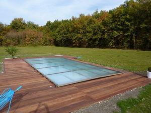 Copertura bassa motorizzata per piscina