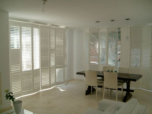 JASNO - shutters persiennes mobiles - Persiana Pieghevole