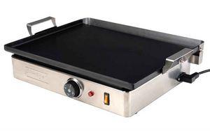 SIMOGAS - plancha electrique terrassa 45x35cm - Piastra Per Barbecue