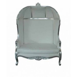DECO PRIVE - fauteuil carrosse de princesse double imitation cu -