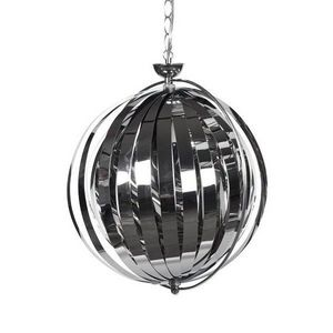 KOKOON DESIGN - suspension design lisa chromée - Lampada A Sospensione
