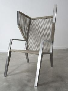 OA CREATION - fauteuil à oreilles 1235677 - Poltrona Con Poggiatesta