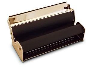 WHITE LABEL - rouleuse à cigarettes en métal argenté slim boite - Astuccio Per Sigarette