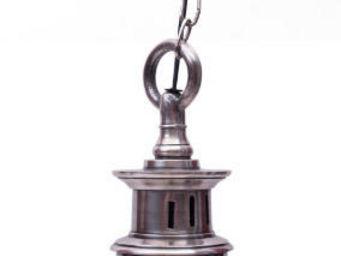 Antic Line Creations - suspension vintage silver - Lampada A Sospensione