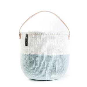 MIFUKO - mifuko kiondo blanc et bleu - Cestino Contenitore