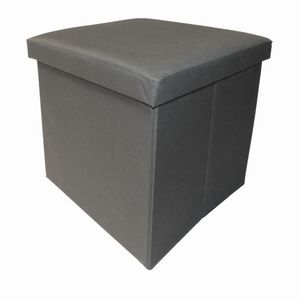 Cotton Wood - pouf pliable oxford - Pouf