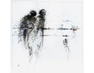 HANNA SIDOROWICZ - grand blanc - Quadro Contemporaneo
