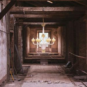 MULTIFORME - diamante - Lampadario Murano