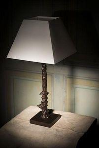 Mercure Décoration - renard et oies - Lampada Da Tavolo