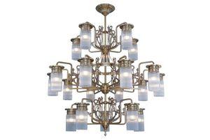 PATINAS - venice 20 armed chandelier - Lampadario