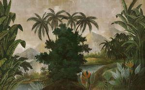 Ananbô - tana couleur -- - Carta Da Parati Panoramica