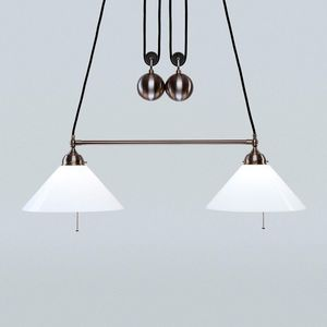 Berliner Messinglampen -  - Lampada A Sospensione