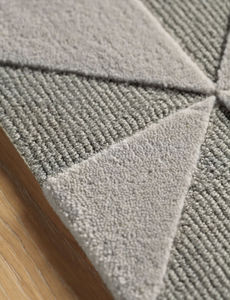 AMINI - fold grey - Tappeto Moderno