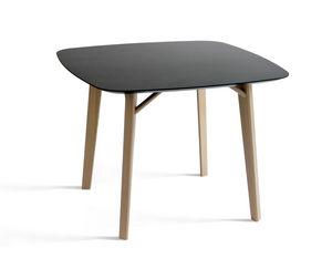 COLE - tria table tetra - Tavolo Da Pranzo Quadrato
