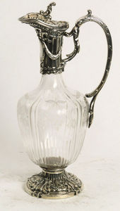 ANTIQUES LACARTA DECORACIÓN - modernist silver jar - Decanter