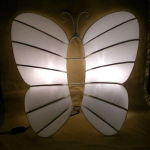 atoutdeco.com - lampe papillon - Lampada Da Parete
