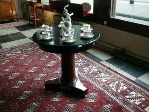 Antiquités NANINCK et LENGAIGNE -  - Tavolino Rotondo