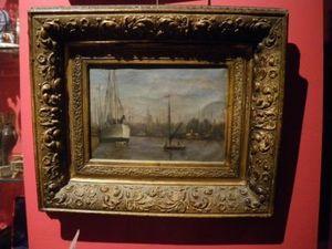 Art & Antiques - petite marine du xixe - Paesaggio Marino