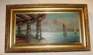 Art & Antiques - marine de la fin du xixe - Paesaggio Marino