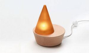ESE- EDITION SOUS ETIQUETTE - ambre - Lampada Da Appoggio A Led