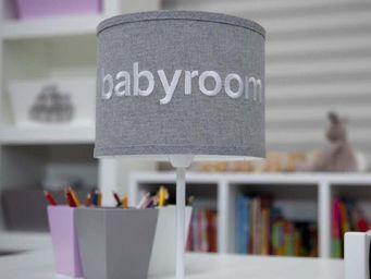 BABYROOM - pantalla cilíndrica de sobremesa - Lampada Da Terra Bambino