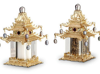 L'OBJET - pagoda spice jewels - Saliera E Pepiera