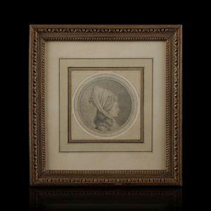 Expertissim - ecole française du xviiie siècle. portrait de femm - Ritratto