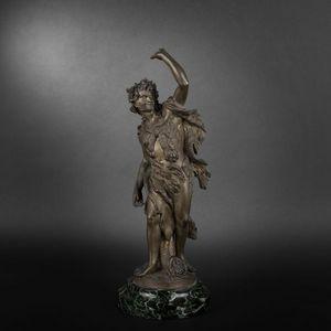 Expertissim - bacchus en bronze - Statuetta